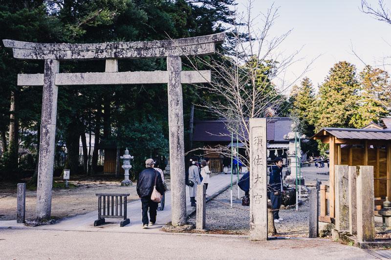 須佐神社旅,鳥居