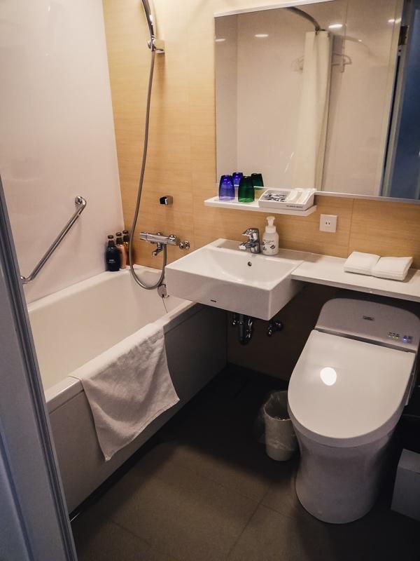 インターゲートホテル広島,バスルーム