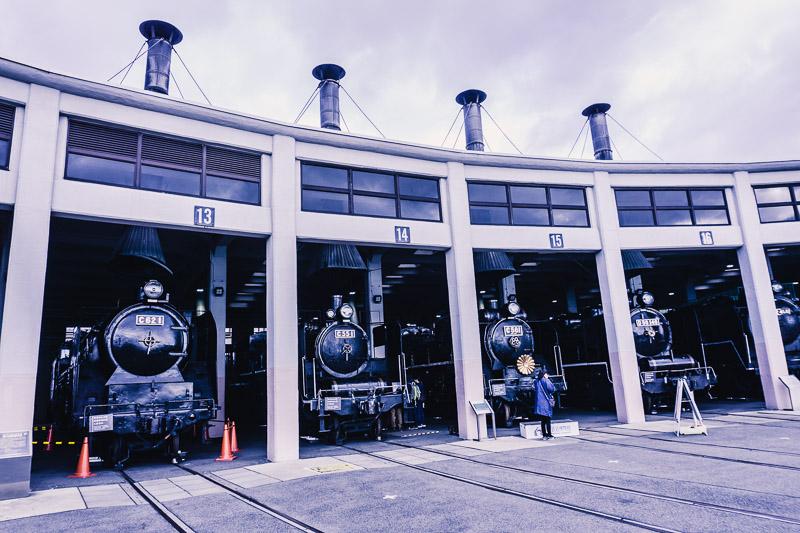京都鉄道博物館,SL